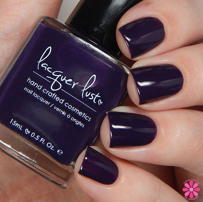 Lacquer Lust Fall 2015 Collection Boysenberry Swatch