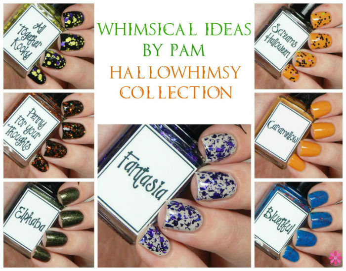 Whimsical Ideas by Pam Hallowhimsy Collection Swatches & Review