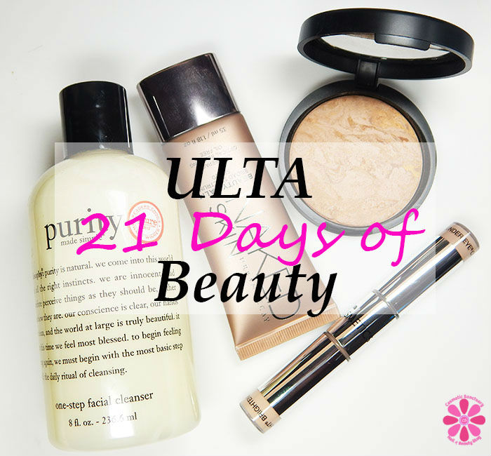 Ulta Beauty Fall 2015 21 Days of Beauty