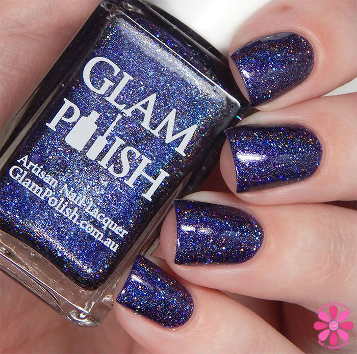 Glam Polish Darkly Dreaming Collection Dooms Day Swatch