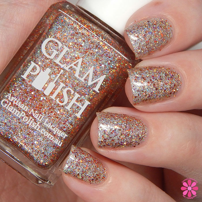 Glam Polish Limited Edition Halloween Trio Fall'n For You Swatch