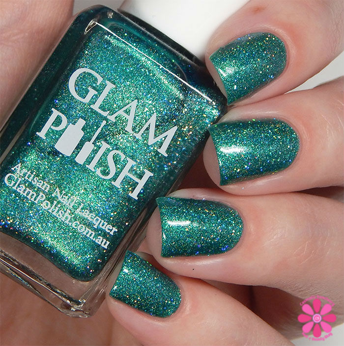 Glam Polish Darkly Dreaming Collection It's Alive! Swatch