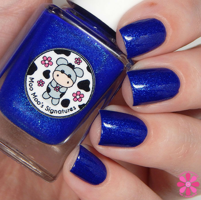 Once In A Blue Moo n Top Coat