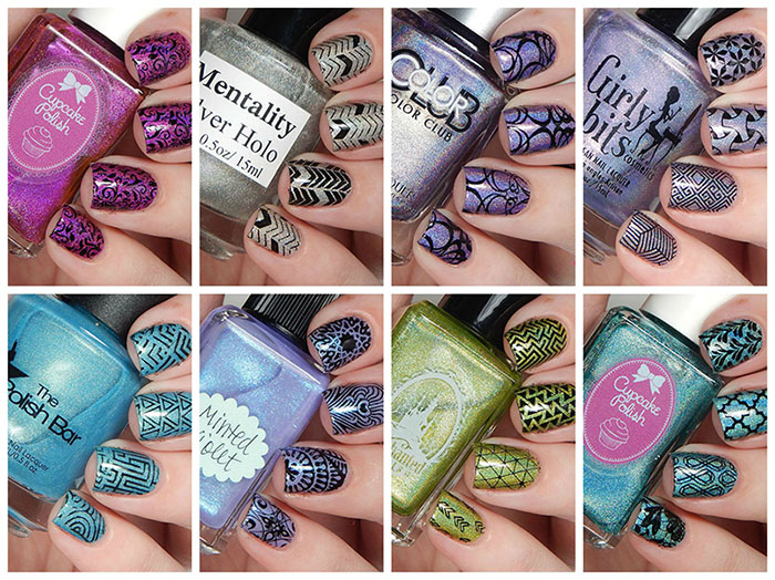 It Girls Stamping Plates 101, 102 & 103 Review & Nail Art