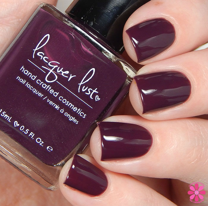 Lacquer Lust Fall 2015 Collection Plum Foolery Swatch