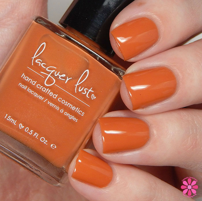 Lacquer Lust Fall 2015 CollectionPumpkin Spice Swatch