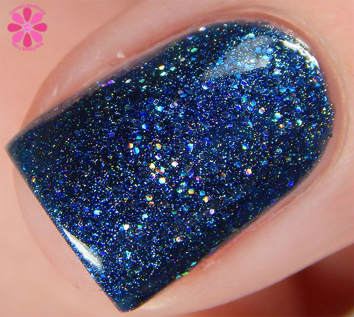 Glam Polish Darkly Dreaming Collection Remember The Monsters? Swatch Macro