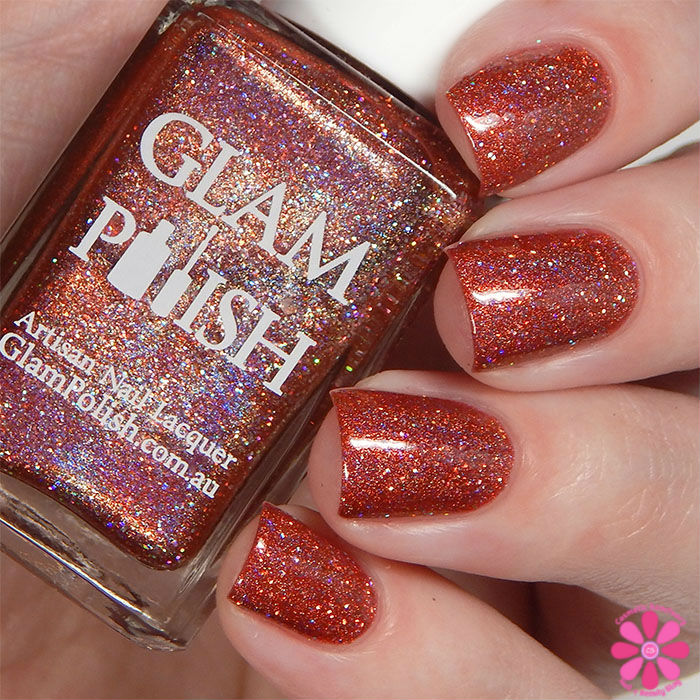 Glam Polish Darkly Dreaming Collection Road Kill Swatch