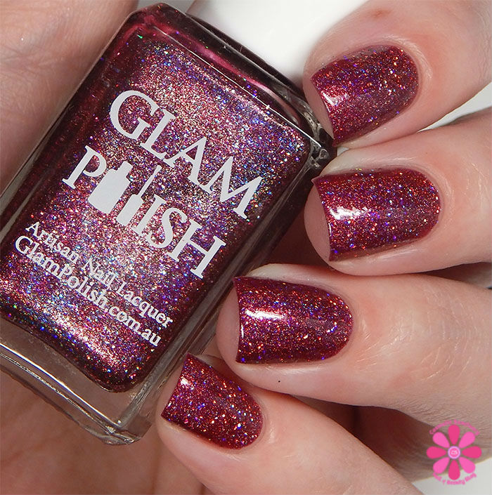 Glam Polish Darkly Dreaming Collection Scar Tissue Swatch