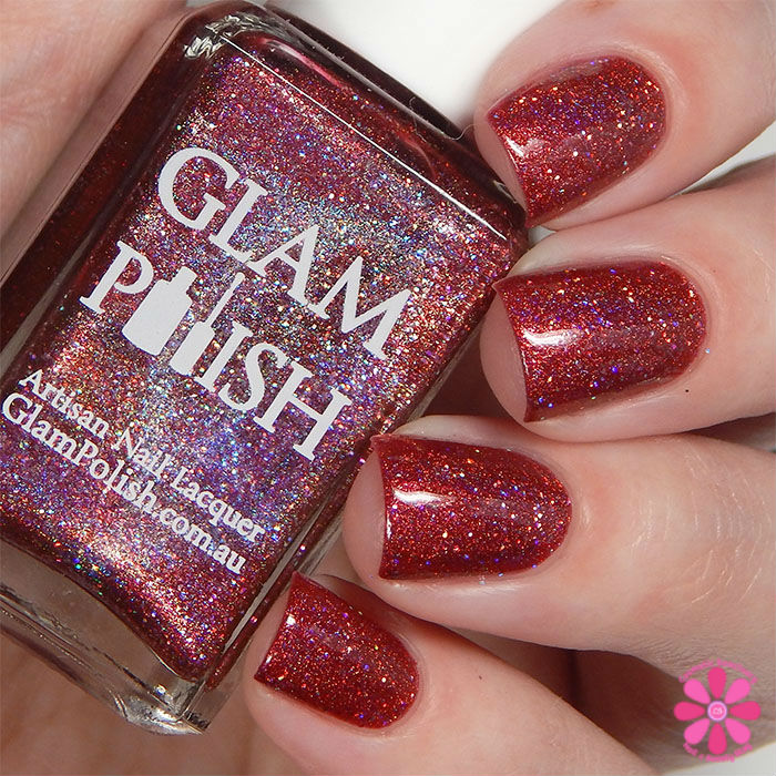 Glam Polish Darkly Dreaming Collection Trinity Swatch