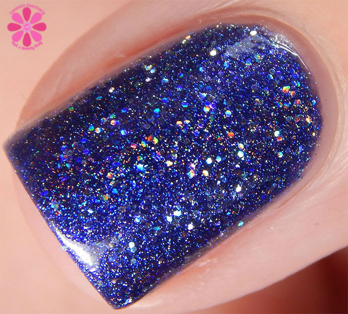 Glam Polish Darkly Dreaming Collection Truth Be Told Swatch Macro