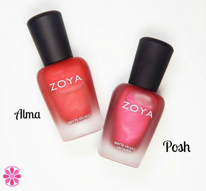 Alma and Posh Bottles