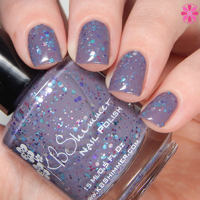 KBShimmer Winter 2015 Collection Brrr-tiful Dreamer Swatch