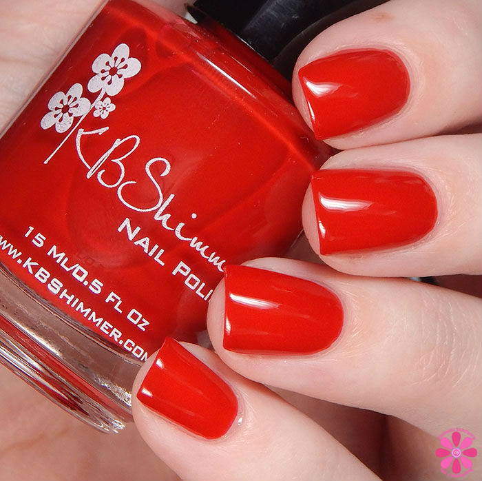 KBShimmer Winter 2015 Collection Chilly Pepper Swatch