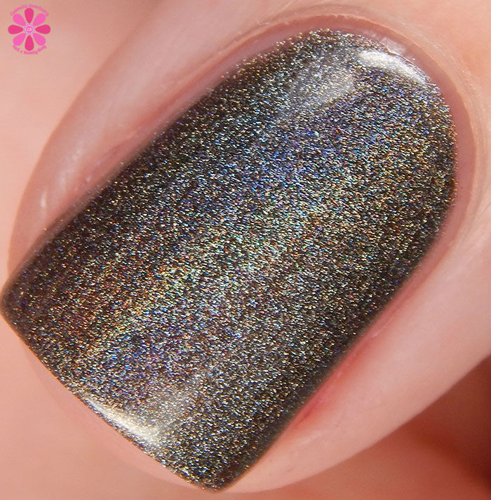 KBShimmer Winter 2015 Collection Coal In One Swatch Macro