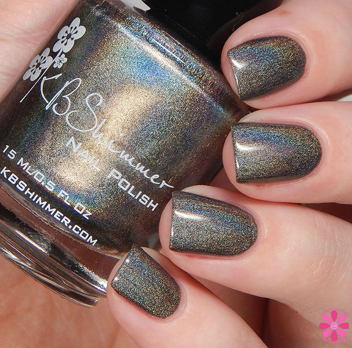 KBShimmer Winter 2015 Collection Coal In One Swatch
