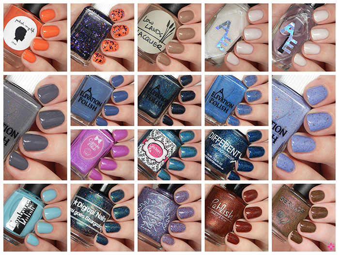 Elevation Polish 4th Annual Auction and Sales for Charity – Information & 17 Shades That Will Be Available!
