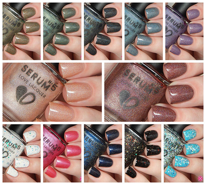 Serum No 5 FW15 Collection Swatches & Review