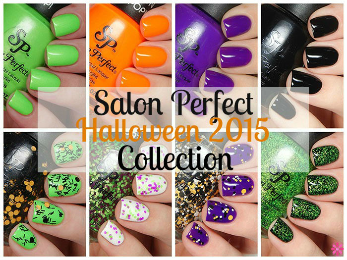 Salon Perfect Halloween 2015 Collection Swatches & Review