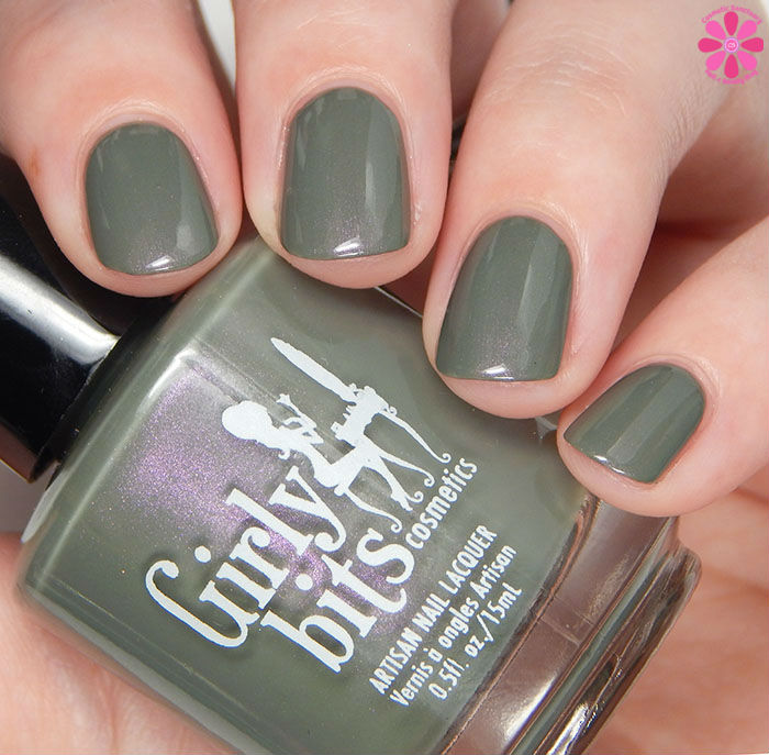 Girly Bits Fall 2015 Hocus Pocus Collection Dead Man's Toe Swatch