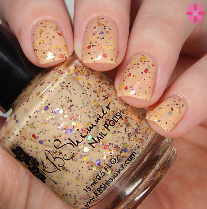 KBShimmer Winter 2015 Collection How Corn-y Swatch
