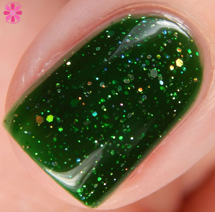 KBShimmer Winter 2015 Collection Kind Of A Big Dill Swatch Macro