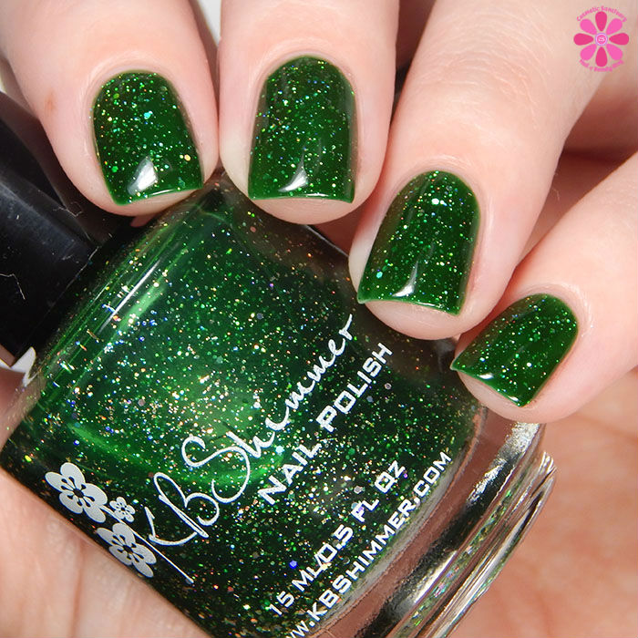 KBShimmer Winter 2015 Collection Kind Of A Big Dill Swatch