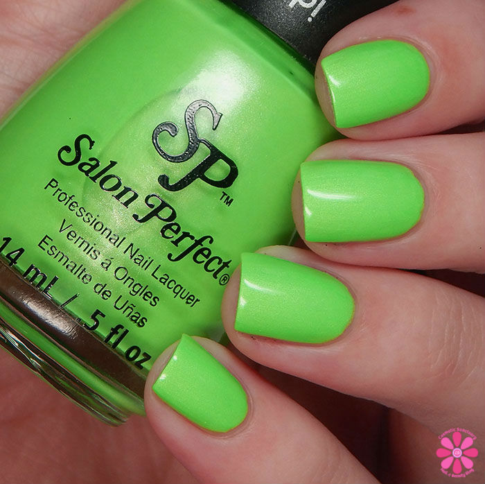 Salon Perfect Halloween 2015 Collection Loopy Lime Swatch