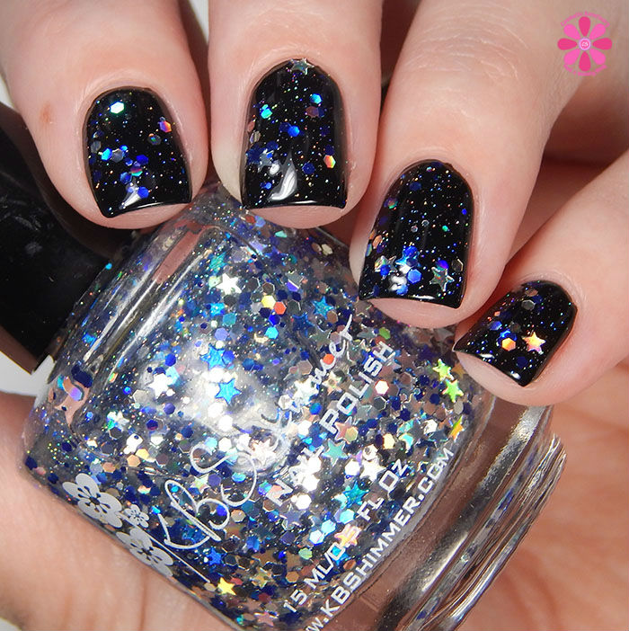 KBShimmer Winter 2015 Collection Oh Holo Night Swatch