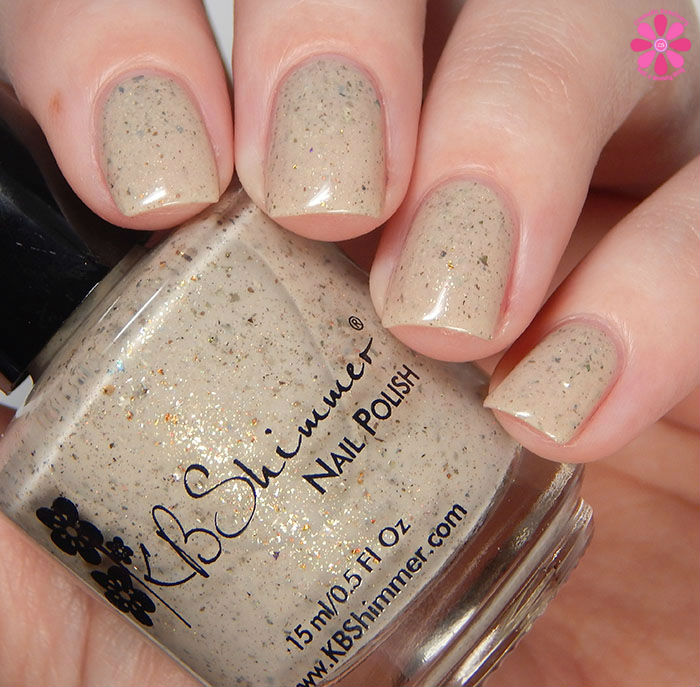 KBShimmer Winter 2015 Collection Owl Miss You Swatch