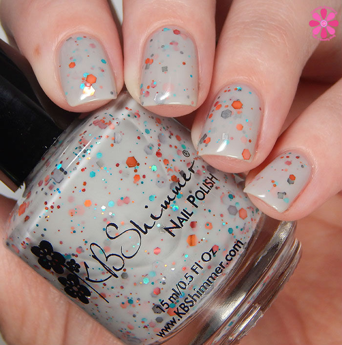 KBShimmer Winter 2015 Collection Smoke Signal Swatch