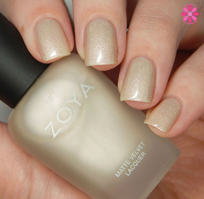 Zoya Sue (Matte Velvet), Free Shipping at Nail Polish Canada