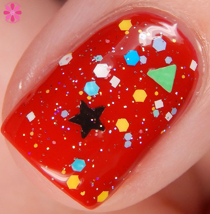 KBShimmer Winter 2015 Collection Toying Around Swatch Macro
