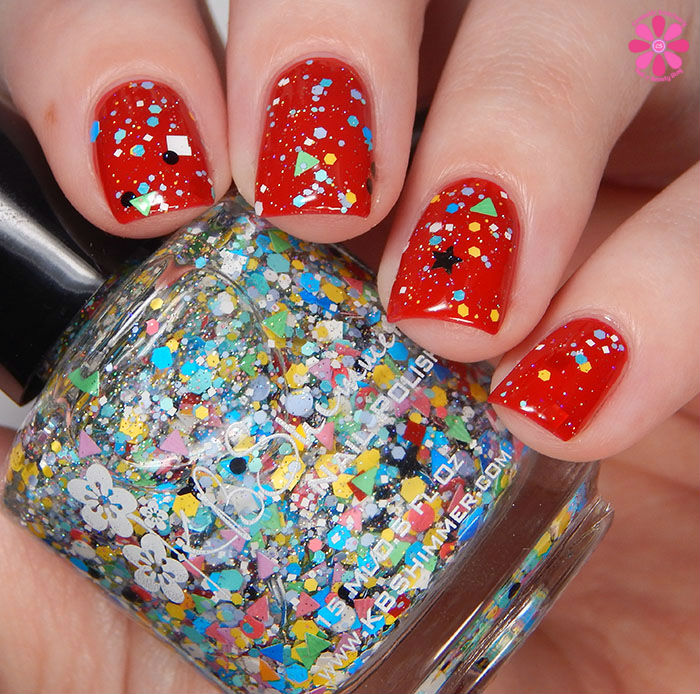 KBShimmer Winter 2015 Collection Toying Around Swatch