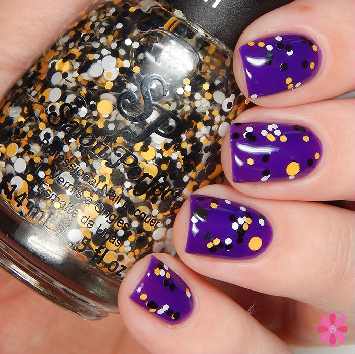 Salon Perfect Halloween 2015 Collection Trick-or-Treat over A Royal Affair Swatch