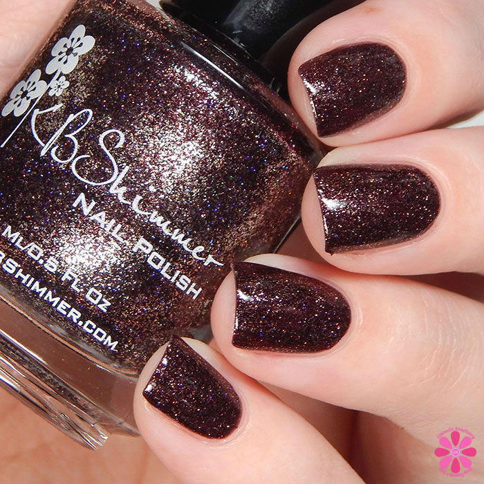 KBShimmer Winter 2015 Collection Yule Worthy Swatch