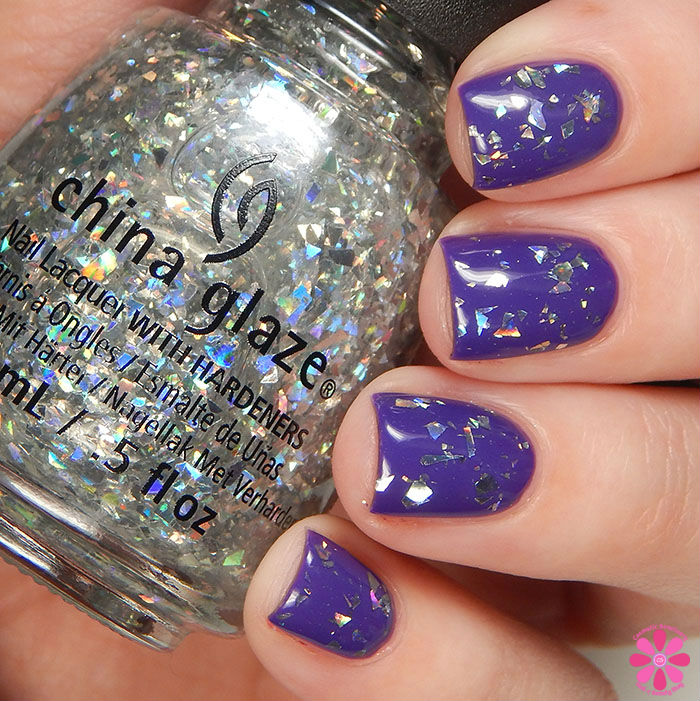 China Glaze Holiday 2015 Cheers Collection Break The Ice Swatch