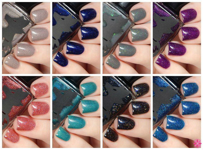 Frenzy Polish Mockingjay Collection Swatches & Review