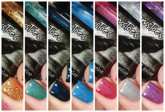 CrowsToes Nail Color Winter 2015 The Holographic Principle Collection Swatches & Review