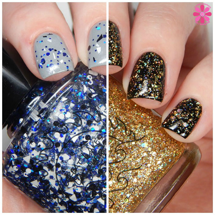 Great Lakes Lacquer December Limited Editions Droid 1 & Droid 2 Swatches & Review
