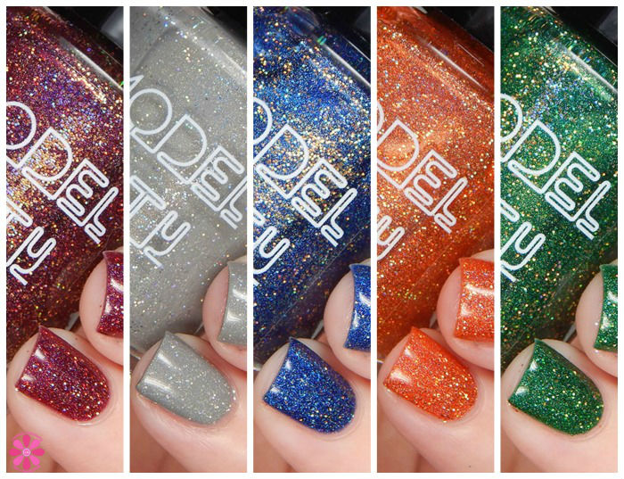 Model City Polish Fall 2015 Collection Swatches & Review