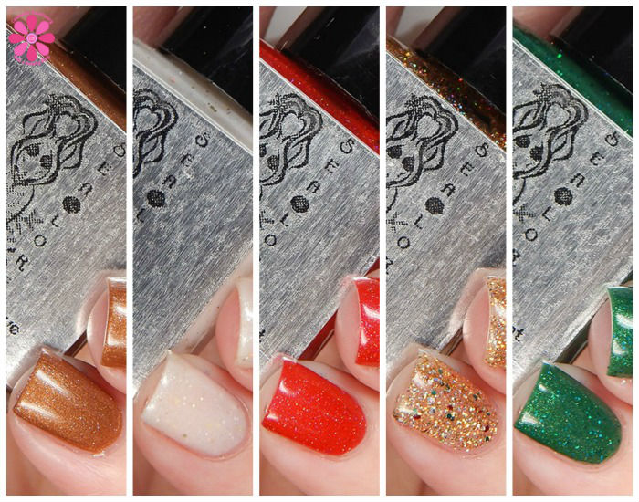 Sea Lore Polish Holiday 2015 Collection Swatches & Review