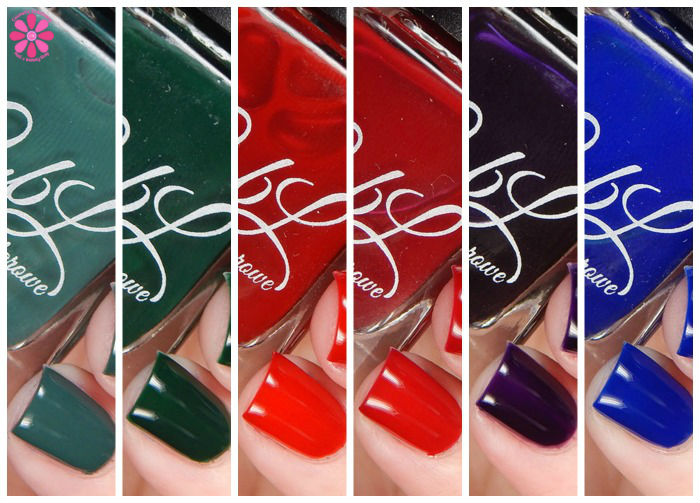 Colors by Llarowe Winter 2015 Crellies & Jellies Swatches & Review