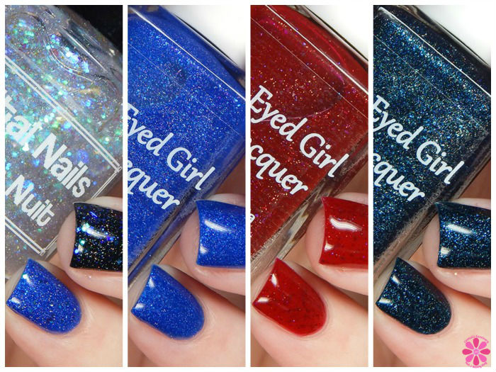 Blue-Eyed Girl Lacquer November Sirens & Destination Duo Swatches & Review
