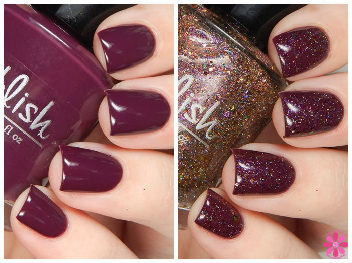 Pahlish December Duo: Confectioner's Castle Swatches & Review