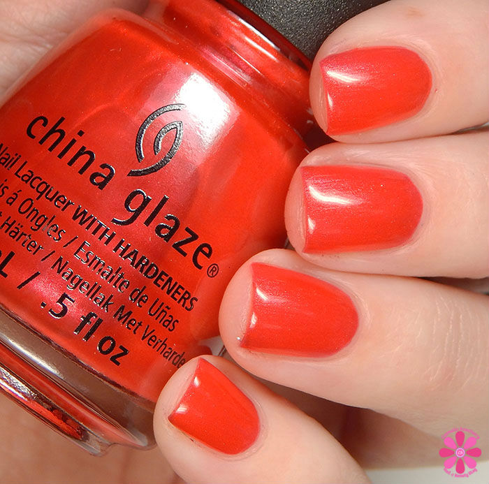 China Glaze Holiday 2015 Cheers Collection Son Of A Nutcracker Swatch