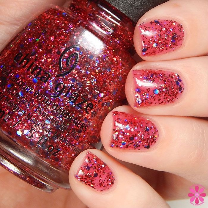 China Glaze Holiday 2015 Cheers Collection Ugly Sweater Party Swatch