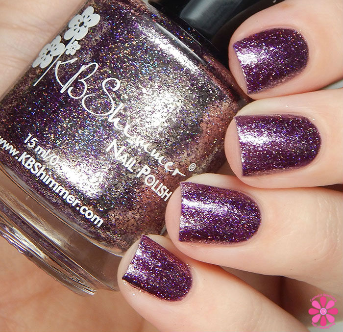KBShimmer Birthstone 2016 Collection Amethyst Swatch