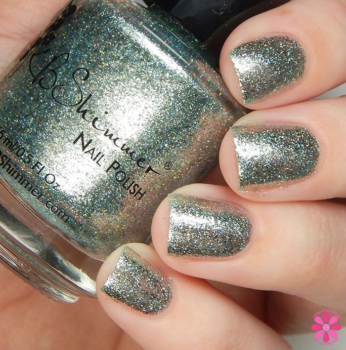 KBShimmer Birthstone 2016 Collection Aquamarine Swatch