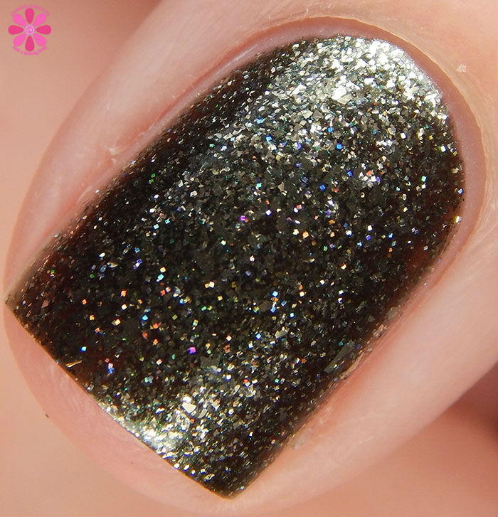 KBShimmer Birthstone 2016 Collection Black Pearl Swatch